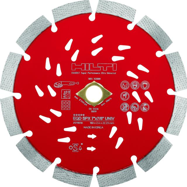 Where to find Cutting disc EQD SPX 14 x1  univ in Kaneohe