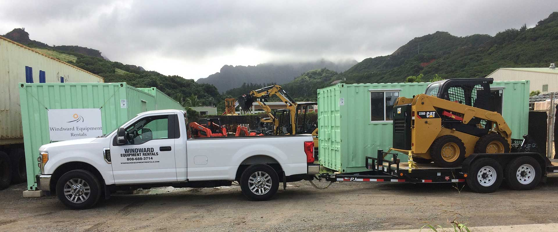 Rent Construction Equipment in Windward Oahu